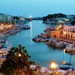 Boat Harbor In Ciutadella In A Balearic Isl Spain HD Desktop Background