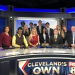 Gilmour Students at Fox 8 News, 10-23-19
